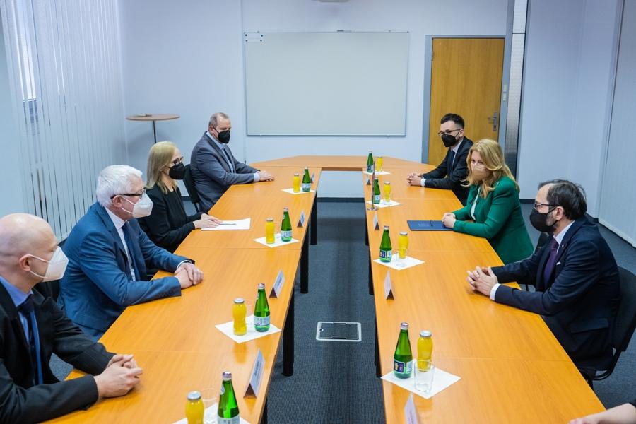 stretnutie predstaviteľov SAV s prezidentkou SR